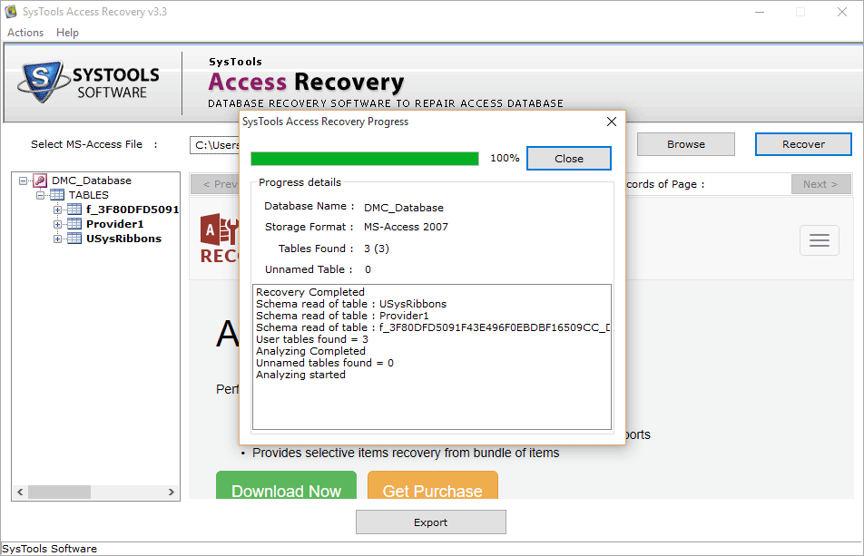 recover files preview